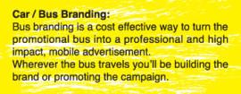 car/bus branding